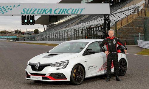 Renault Megane RS Trophy-R sets lap record at Suzuka (video)