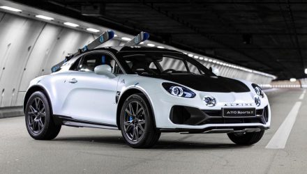 Alpine A110 SportsX concept revealed, inspired by 1970s WRC car