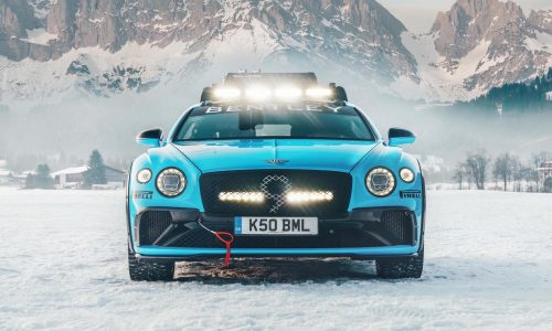 Bentley reveals special Continental GT for 2020 GP Ice Race