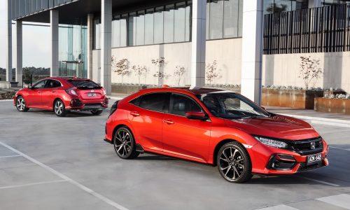2020 Honda Civic hatch update now on sale in Australia