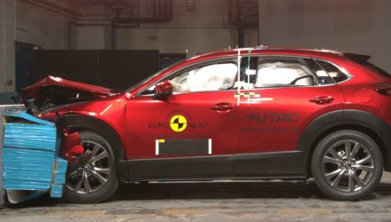 2020 Mazda CX-30 awarded 5-star ANCAP safety rating