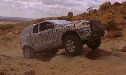 2021 Ford Bronco previewed, shows off-road capability (video)