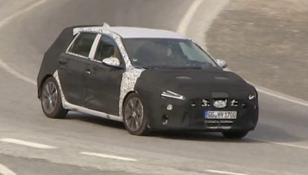 2021 Hyundai i30 prototype spotted, hides new-look design (video)