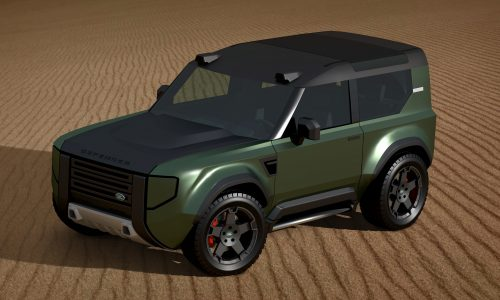 Baby Land Rover Defender envisioned, premium Jimny rival?