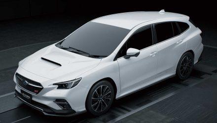 Subaru Levorg STI Sport prototype revealed, previews new model