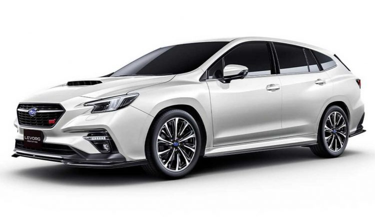 subaru levorg sti sport prototype revealed previews new