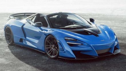 Novitec develops N-Largo wide-body McLaren 720S Spider