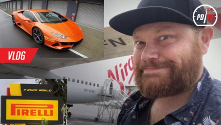 Vlog: Pirelli P Zero World Melbourne, Lamborghini driving at Phillip Island