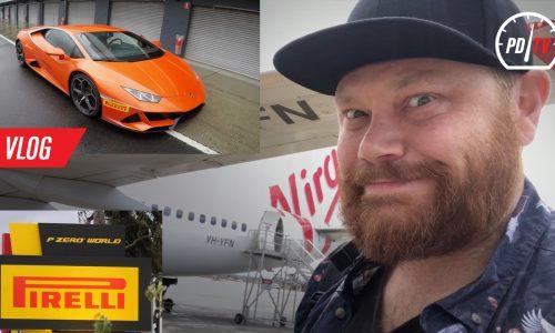 Vlog: Pirelli P Zero World Melbourne, Lamborghini driving at Phillip Island