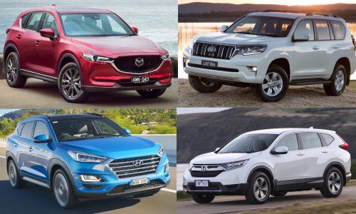 Top 10 best-selling SUVs in Australia in 2019