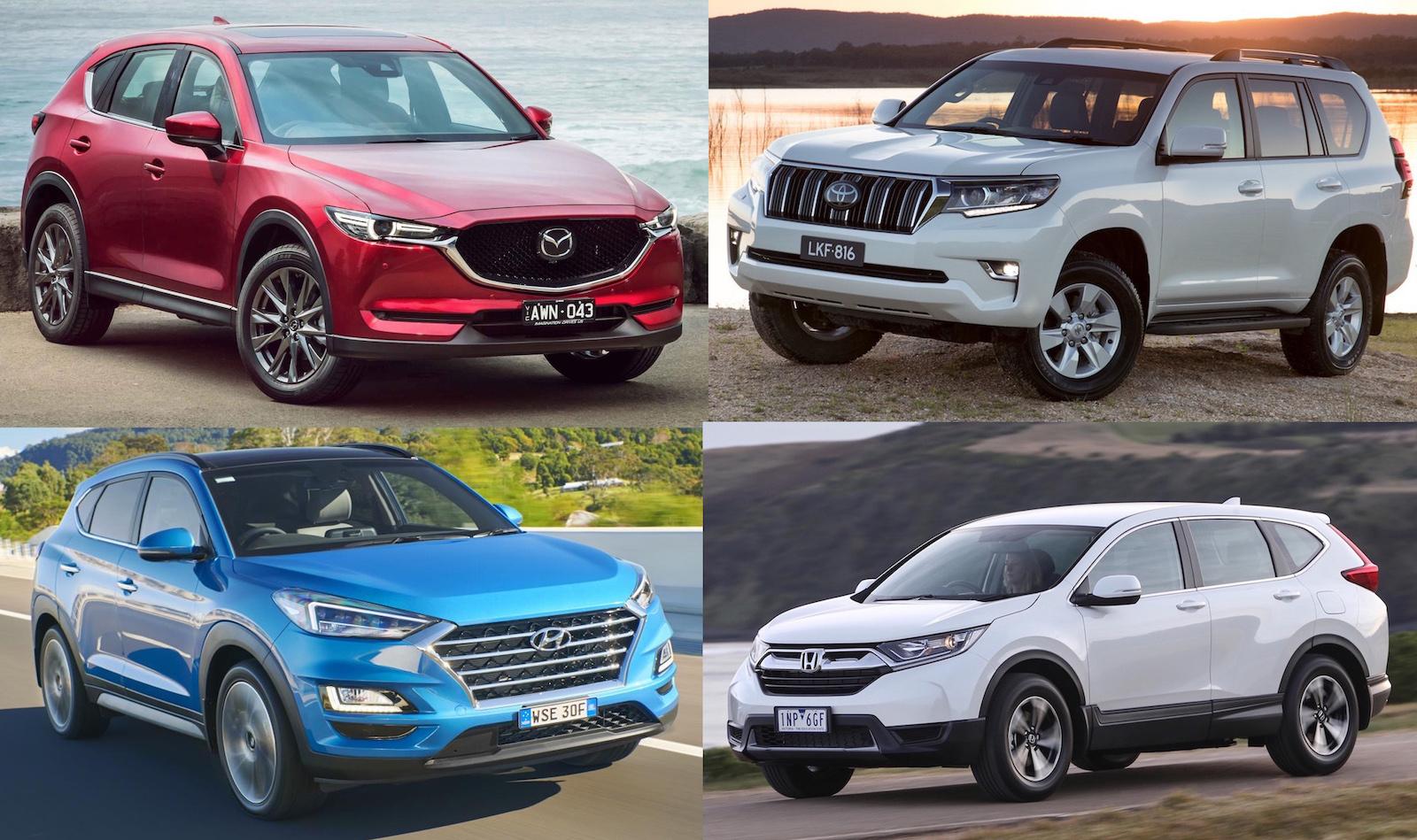 Top 10 best selling SUVs in Australia in 10   PerformanceDrive