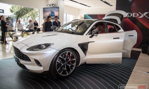 Aston Martin DBX makes Australian debut, on sale now