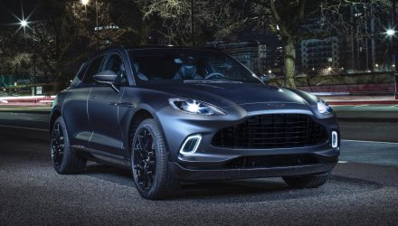 Aston Martin DBX shows off 'Q by Aston Martin' options