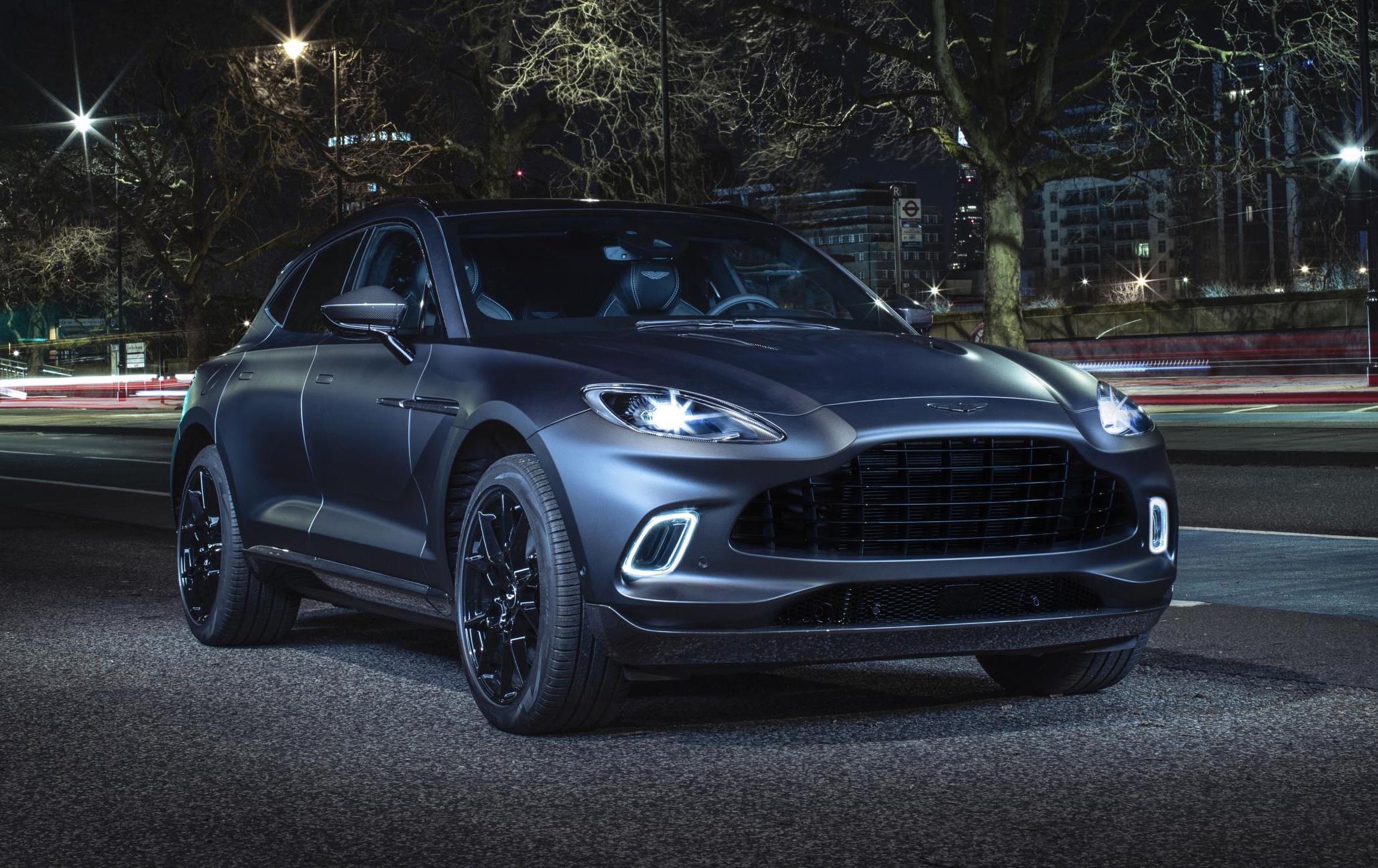 Aston Martin DBX shows off 'Q by Aston Martin' options