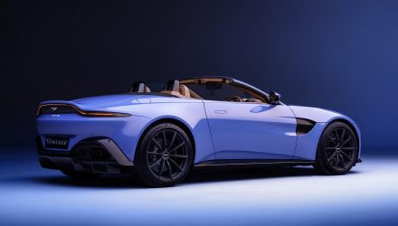 2020 Aston Martin Vantage Roadster revealed