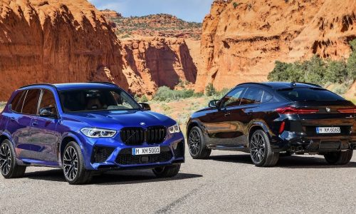2020 BMW X5 M, X6 M Competition announced for Australia