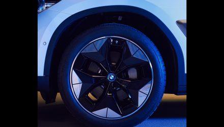 BMW iX3 debuting 'Aerodynamic Wheel', adds 10km range