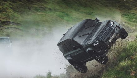 Video: New Land Rover Defender advert shows Bond film stunts