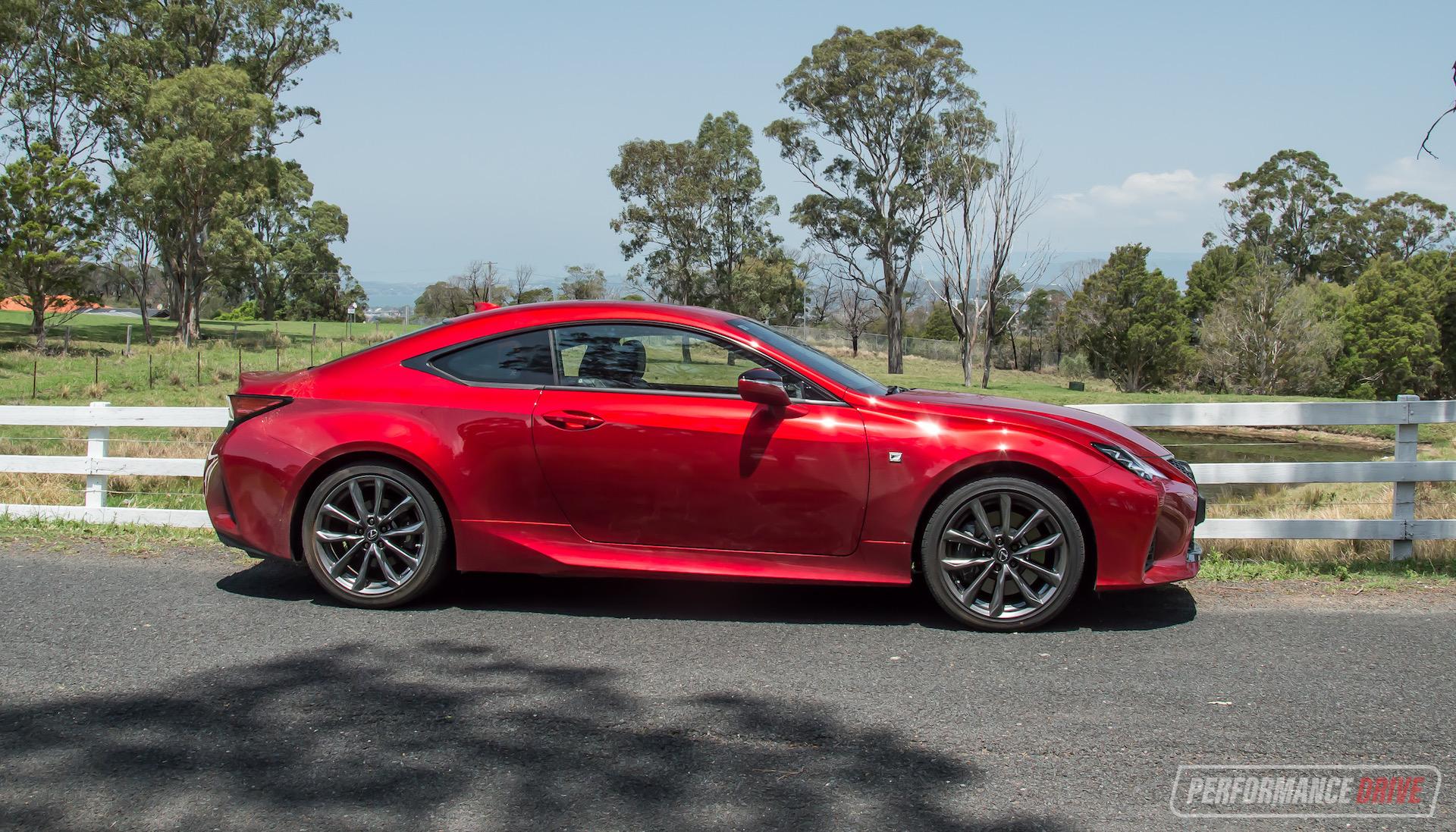 2020 Lexus Rc 350 F Sport Review Video Performancedrive