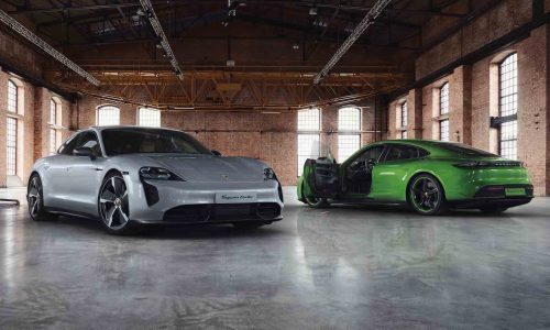 Porsche Exclusive announces bespoke options for Taycan