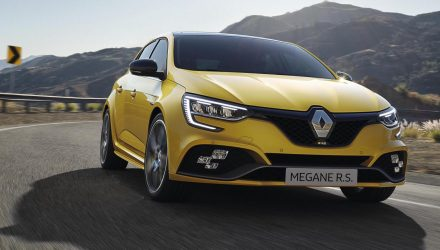 2020 Renault Megane facelift debuts plug-in hybrid, more power for RS
