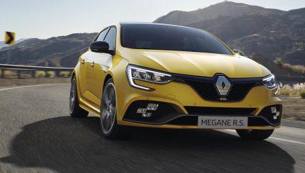 2020 Renault Megane facelift debuts plug-in hybrid, more power for RS