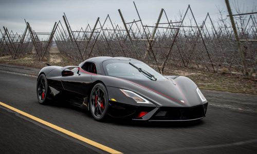 First production SSC Tuatara debuts, features 1750hp V8