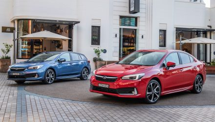 MY2020 Subaru Impreza update now on sale in Australia