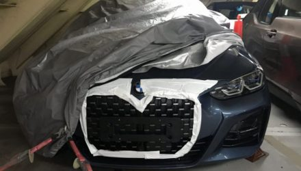 2021 BMW 4 Series 'G22' revealed in sneaky spy photos