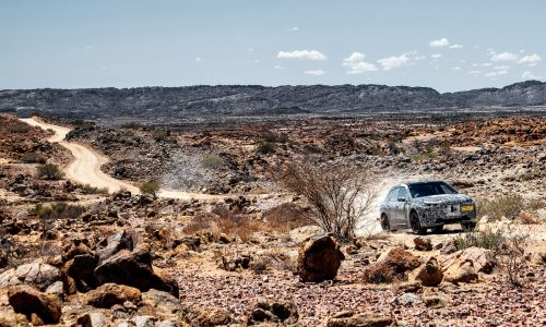BMW iNEXT undergoes extreme hot weather, off-road testing