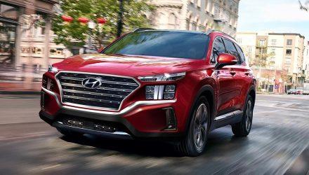 2021 Hyundai Santa Fe facelift to get 1.6T hybrid, Sorento specs leaked