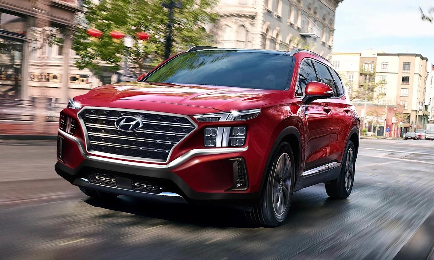2021 Hyundai Santa Fe Facelift To Get 1 6t Hybrid Sorento Specs Leaked Performancedrive