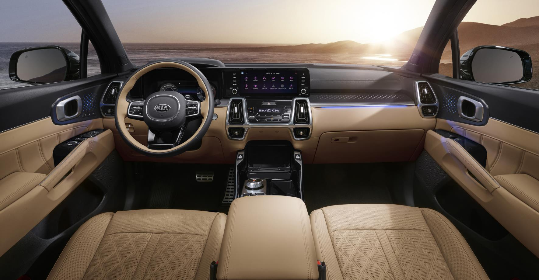 2021 kia sorento officially revealed  inside and out
