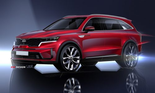 2021 Kia Sorento previewed again, shows more detail
