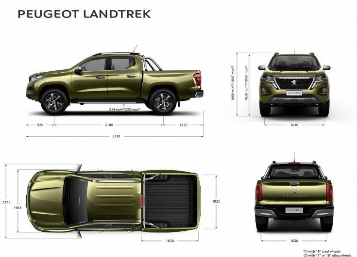2021 Peugeot Landtrek revealed as suave new dual-cab ute ...