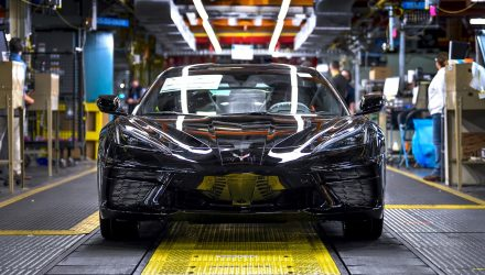 2020 Chevrolet C8 Corvette production officially begins