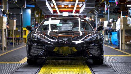 2020 Chevrolet C8 Corvette production officially begins