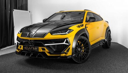 Keyvany creates crazy Lamborghini Urus upgrades