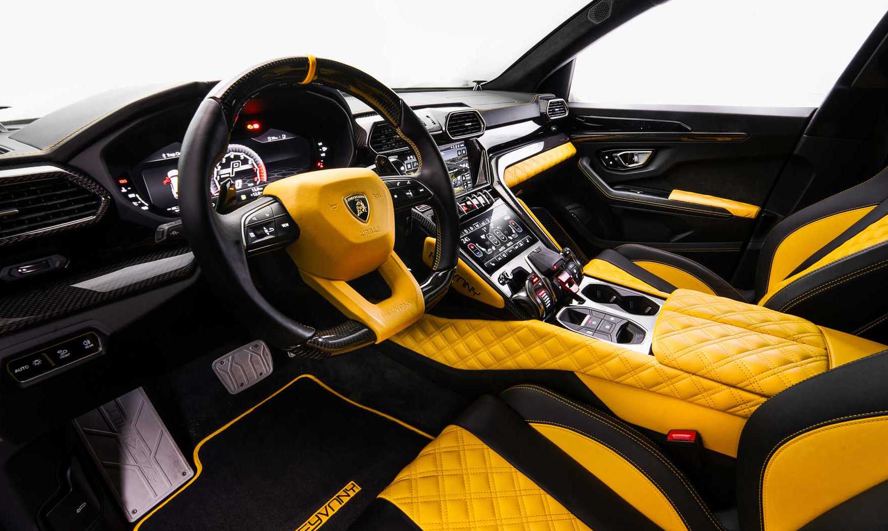 Keyvany Creates Crazy Lamborghini Urus Upgrades Performancedrive