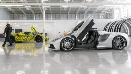 Final Lotus Evija prototypes go into production at new facility