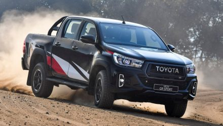 Toyota 'GR HiLux' trademark found, finally a performance ute?
