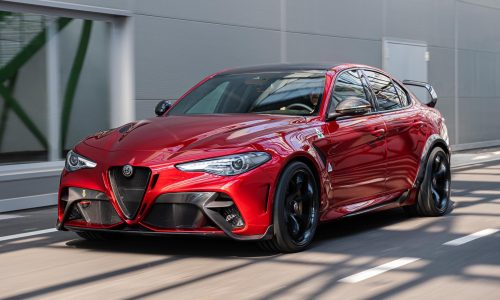 Alfa Romeo Giulia GTA revealed; hardcore track version, more power