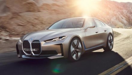 BMW Concept i4 revealed, previews production EV for 2021