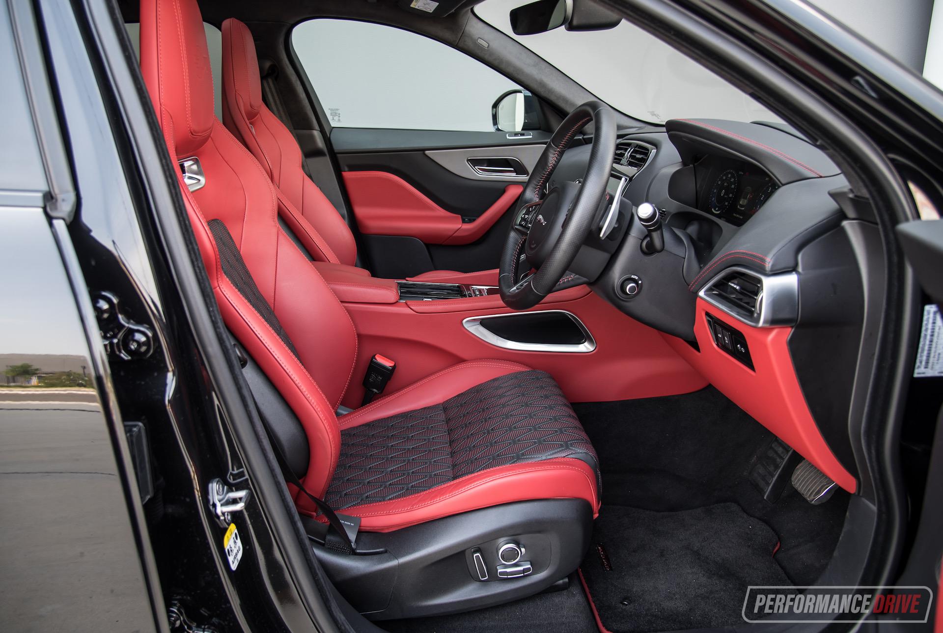 2020 Jaguar F Pace Svr Review Video Performancedrive