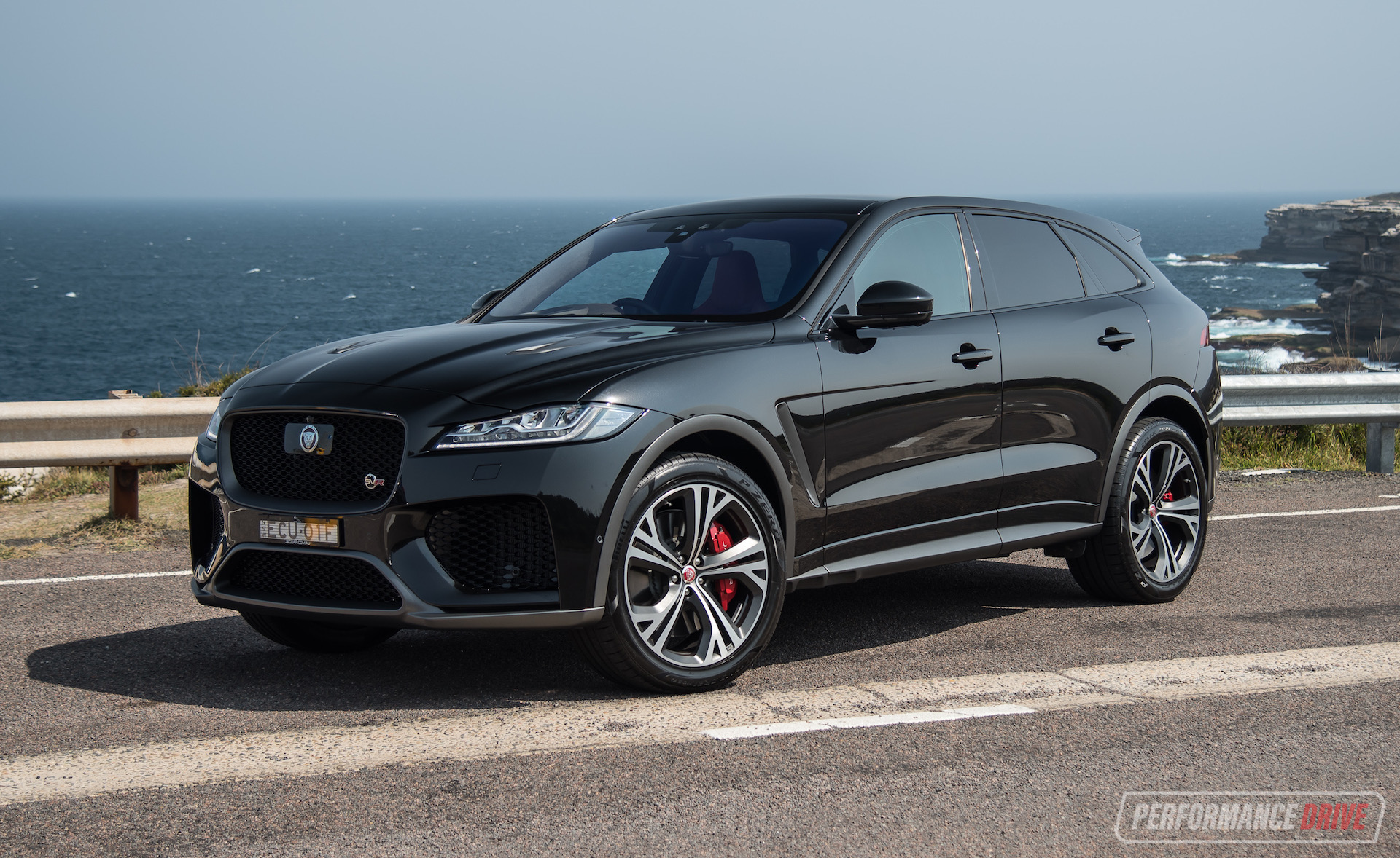 2020 Jaguar F Pace Svr Review Video Performancedrive