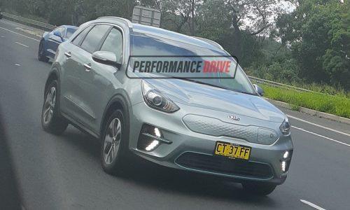 Kia e-Niro spotted in Australia, undergoing local testing