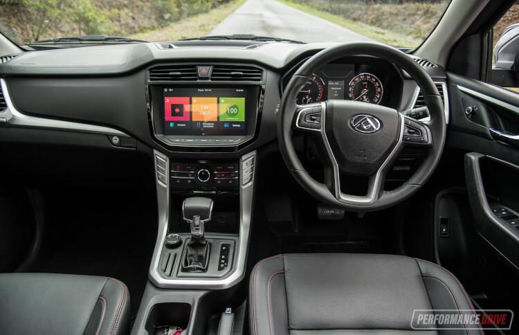 2020 LDV T60 Luxe-interior