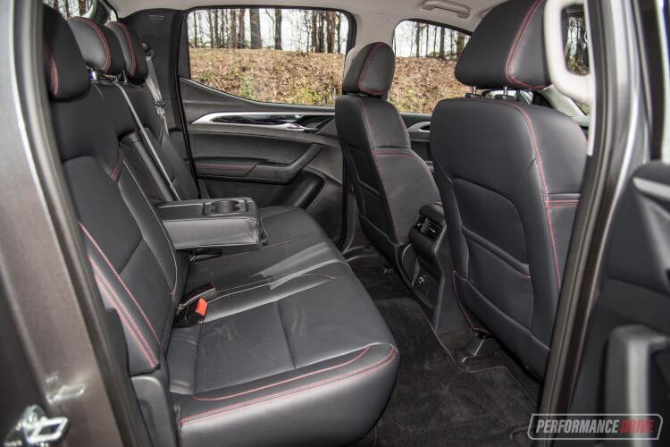 2020 LDV T60 Luxe-rear seats
