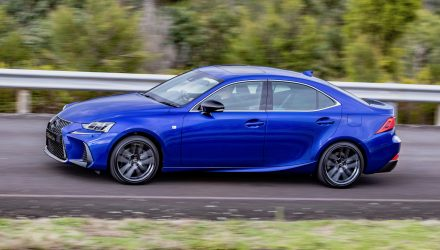 2020 Lexus IS 300 / IS 350 Black Line edition announced for Australia