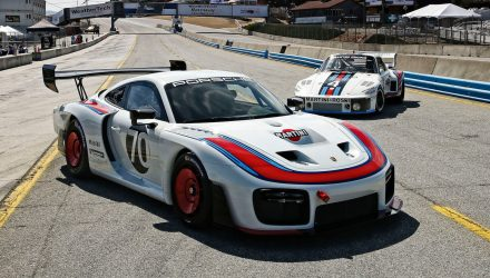 New Porsche 935 to make Australian debut at F1 GP